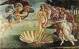 IUWAN El Nacimiento de Venus Sandro-Botticelli Puzzle para Adultos Puzzle 1000 Piezas Puzzle de Papel Juguete de descompresión Brain Challenge Puzzle 38x26CM