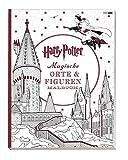 Harry Potter: Magische Orte & Figuren Malbuch