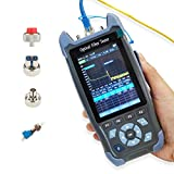 D YEDEMC Mini-Pro 1310/1550nm SM OTDR Mulit-Function tester Built in OPM/OLS / RJ45 Test/VFL Test Rang 5m-60Km Dynamic Range 24dB/22dB Connector UPC With FC/UPC-FC/APC-SX And FC/SC/LC/ST Adapter