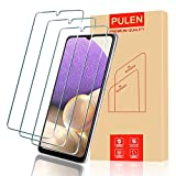 [3-Pack] PULEN for Samsung Galaxy A32 5G Screen Protector,HD Clear Scratch Resistant Bubble Free Anti-Fingerprints 9H Hardness Tempered Glass for Samsung A32 5G (Not for Samsung A32 4G)