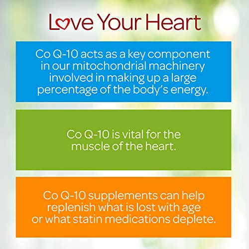 Q-Sorb CoQ10 200mg Supports Heart Health,120 Softgels by Puritan's Pride