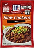 McCormick 'Slow Cookers' Chili Seasoning Mix (1.5 oz Packets) 4 Pack