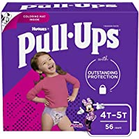 56 Count Pull-Ups Learning Designs Girls' Training Pants