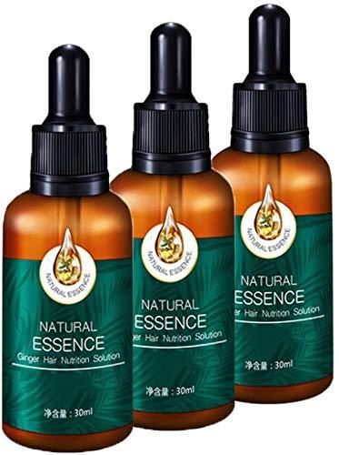 7X Rapid Growth Hair Treatment 7 Day Hair Growth Serum Essence Oil Regrow, with Natural Vitamin Rich Treatm, for Fuller Healthier Hair, Prevent Hair Loss & Thinn (3Pcs)