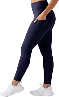 High Waist Yoga Pants for Women - Non See Through Workout Athletic Yoga Legging with Pockets for Running