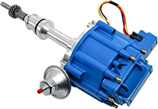 Assault Racing Products 1030223 for Small Block Ford 5.0L HEI Distributor 50k Volt Ignition EFI to Carb SBF