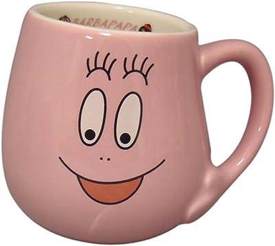 「 バーバパパ 」 フェイス マグカップ パパ柄 ピンク BB70-1-11