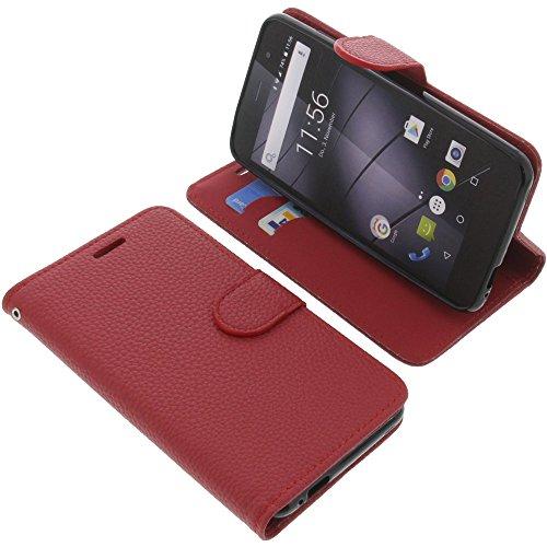 foto-kontor Tasche für Gigaset GS170 GS160 / GS170 Book Style rot Schutz Hülle Buch