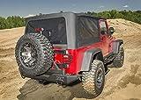Rugged Ridge 13761.35 Montana Soft Top, Black Diamond; 97-06 Jeep Wrangler Unlimited LJ