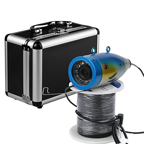 GRXXX Finder De Pescado Inalámbrico WiFi HD, Admite Grabaciones De Video Y Fotos, 1000TV Cámara Subacuática 20/30 / 50M,20M