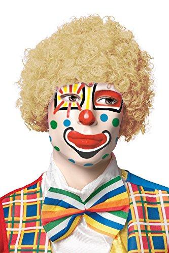 P'TIT Clown re68051 - Perruque pop blond