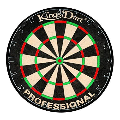 Kings Dart Profi-Dartscheibe | Sisal | 0,7 mm Spider-Feldbegenzung | 45 cm
