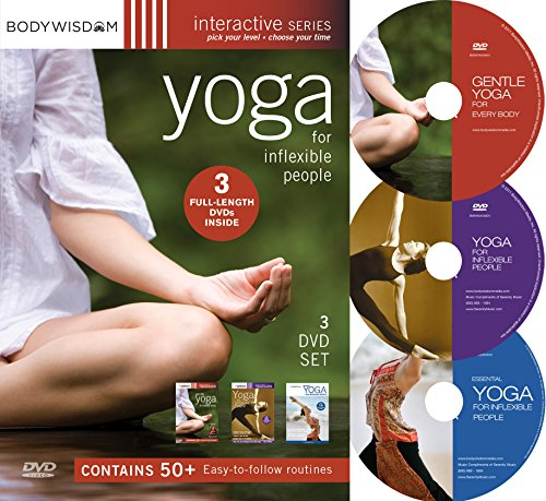 Yoga for Inflexible People 3 DVD Set