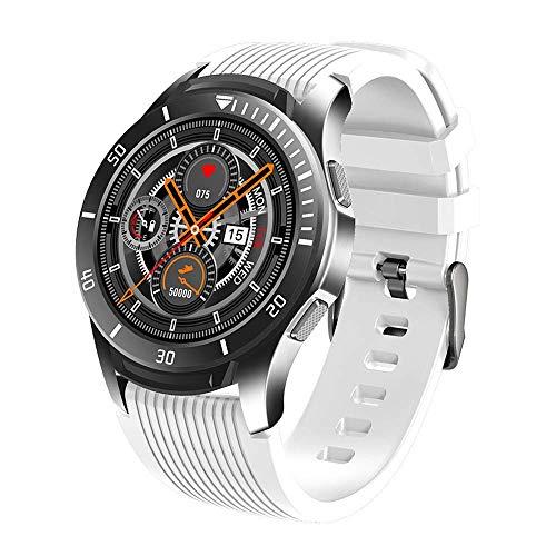 ZHENAO Smart Watch, Reloj de Pantalla Táctil Completa de Alta Definición de 1.28 Pulgadas, Pedómetro Multifuncional Impermeable Ip67 para Recordar la Inforión de Llamadas Entrantes,