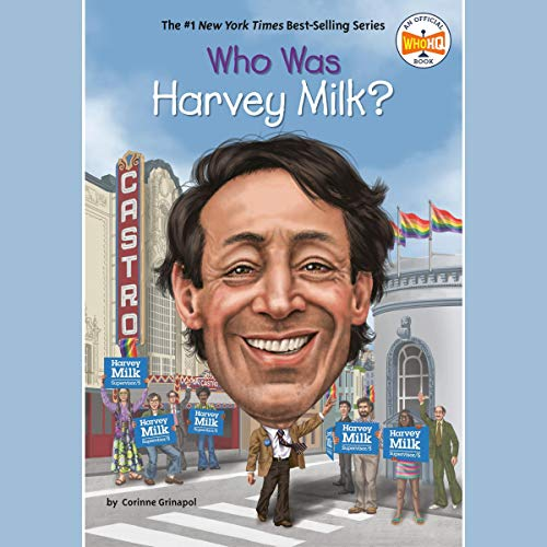 Who Was Harvey Milk? cover art