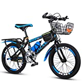 Simanli Children's Bicycles Boys and Girls Bikes Variable Speed Mountain Kids Bike Outdoor