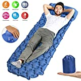 Idefair Inflatable Sleeping Pad,Ultralight Camping Mats Outdoor Mattress Waterproof Air Sleeping Mat with...