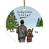 Lplpol Personalized Ornament - Hunting Partners Christmas Custom Gift for Family and Friends