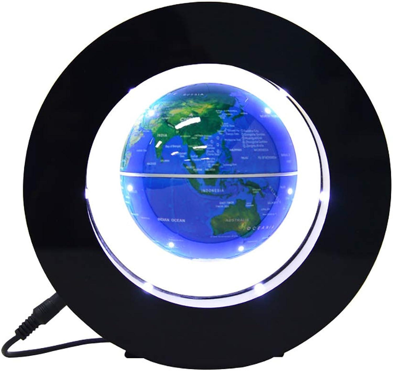 HLL HLL HLL Schwebende magnetschwebebahn Weltkarte Globus mit Runde Form Base Drehen Planet Erde Globus Ball Anti Schwere LED-Lampe Büro Dekoration B07L1Q1K21 | Einfach zu spielen, freies Leben  a7c65f