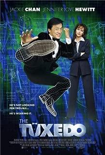 TUXEDO (2002) Original Authentic Movie Poster - 27x41 One Sheet - Double-Sided - FOLDED - Jackie Chan - Jennifer Love Hewitt - Jason Isaacs - Debi Mazar