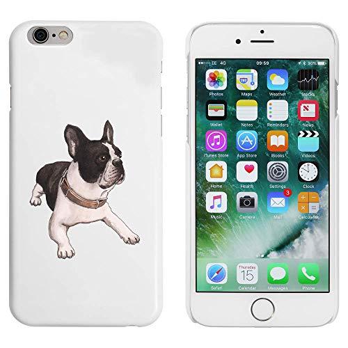 Azeeda White 'French Bulldog' Case for iPhone 6 & 6s (MC00191965)