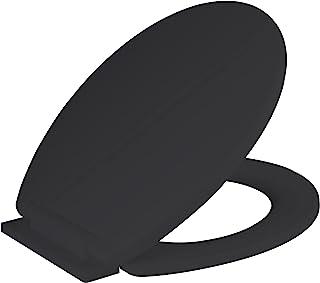 RAM ONLINE Abattant WC à fermeture amortie Noir