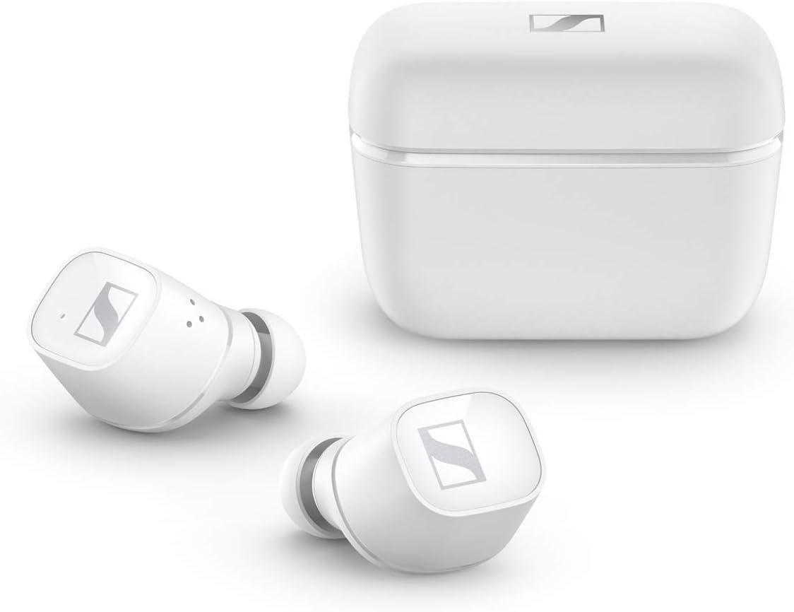 Sennheiser Auriculares CX 400BT Bluetooth con Control táctil, Blanco
