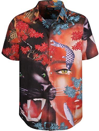 Rip N Dip KOI SS Button Up korte mouwen shirt