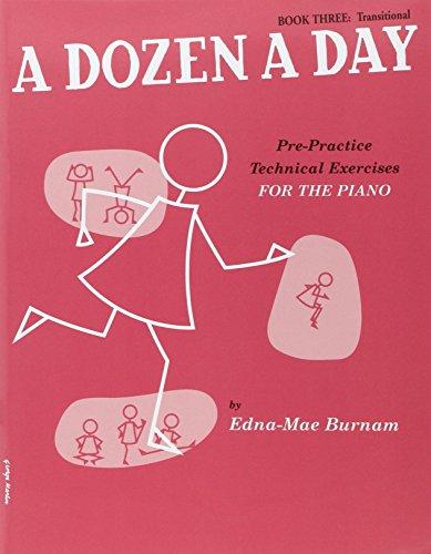 A Dozen A Day Book Three: Transitional [Lingua inglese]