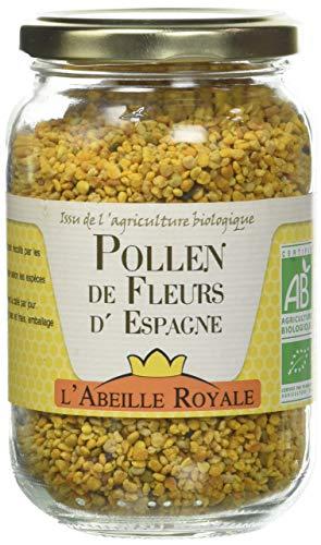 L'Abeille Royale Pollen de Fleurs d'Espagne Bio 220 g
