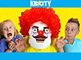 KidCity Vs. the Evil Clown!