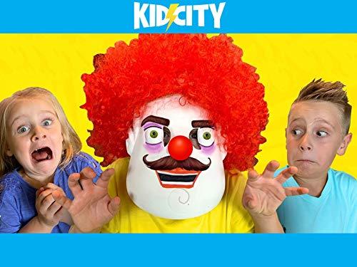 KidCity Vs. the Evil Clown!