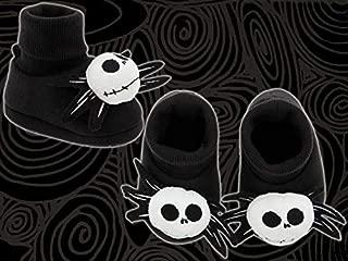 ナイトメアービフォアクリスマスジャックプラッシュ付きベビーシューズ0~6カ月用靴子供 USディズニーランド 限定服ハロウィン