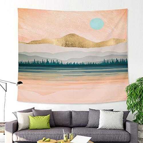 mmzki Landschaftsmalerei Landschaft Tapisserie Wandbehang hängen GT-CX026 150x100