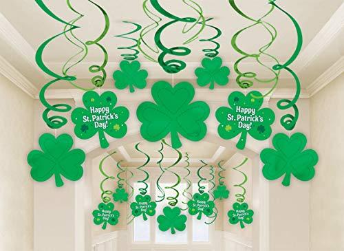 amscan 679490 St. Patrick de Jour Décorations