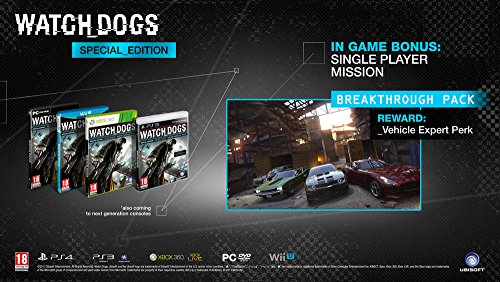 XBOXONE - Watch Dogs (Special Edition) (1 GAMES)