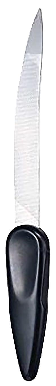 ただジェスチャーフィードバックステンレス製カーブつめやすり SJ-N41