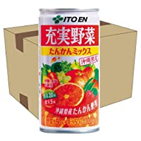 充実野菜 たんかんミックス 190g×30缶セット