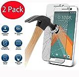 2 Pack - HTC 10 / One M10 Verre Trempé, Vitre Protection Film de Protecteur d'écran Glass Film Tempered Glass Screen Protector...