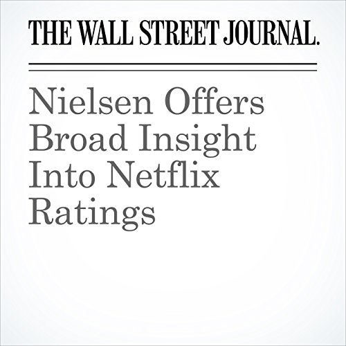 Nielsen Offers Broad Insight Into Netflix Ratings copertina