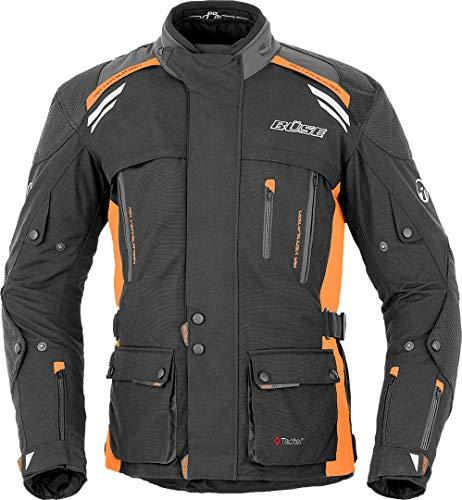 Preisvergleich Produktbild Büse Highland Motorrad Textiljacke 54 Schwarz / Orange