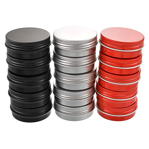 Godagoda 15 Pots Vides en Aluminium de 30ml