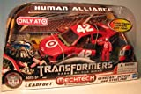 Transformers 3 Dark of the Moon Exclusive Human Alliance Leadfoot with Sergeant Detour Steeljaw