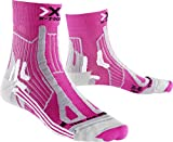 X-Socks Run Trail Energy Chaussette Femme, Rose, 35/36 EU (2.5-3.5 UK)