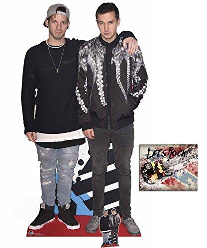 Fan Pack - Tyler Joseph und Josh Dun Lebensgrosse und klein Pappaufsteller - mit 25cm x 20cm foto