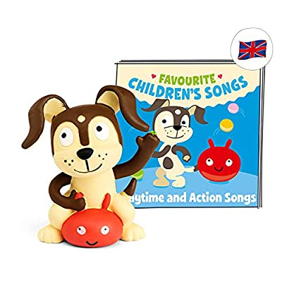 Tonies Audio Character for Toniebox, Favourite Children's Songs, Playtime and Action Songs for Children for Use with Toniebox Music Player (Sold Separately), 50 Mins of Audio for Age 3+ from tonies