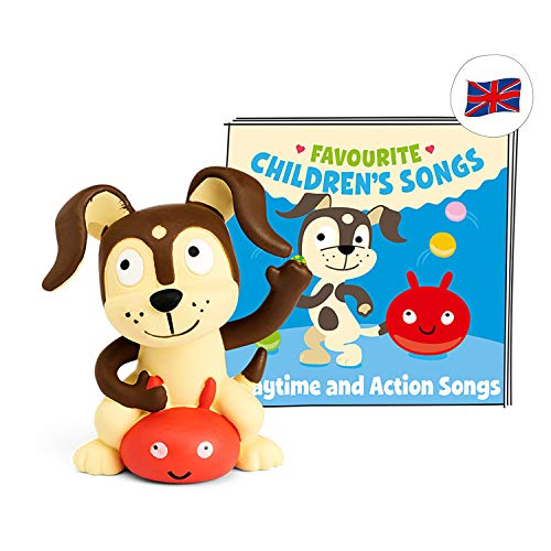 tonies Hörfigur (Englische Version) Favourite Children's Songs für die Toniebox: Playtime and Action Songs