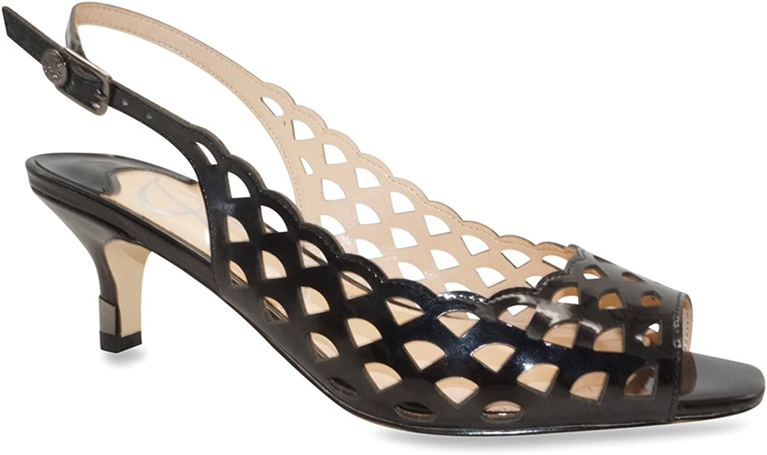 J.Renee Womens Peppi Open Toe Casual Ankle Strap Sandals
