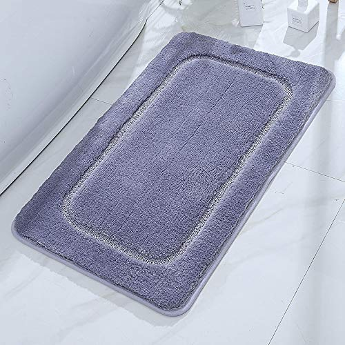 YLBH Alfombrillas antideslizantes para baños y aseos, absorbentes de agua, antideslizantes, para entradas, para entradas a dormitorios, alfombras de 60 x 90 cm de alto.