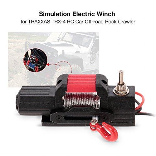 KKmoon Guincho elétrico de simulação para TRAXXAS TRX-4 RC carro Off-road Rock Crawler